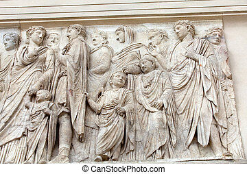 Rome - Ara Pacis, Altar of Augustan Peace