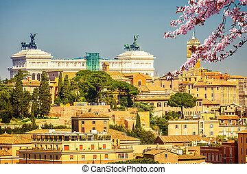 Rome at spring, Italy