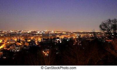 Rome by night. Italy