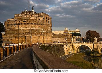 Rome, Castle S. Angelo