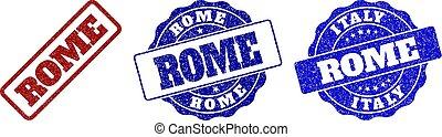 ROME Grunge Stamp Seals