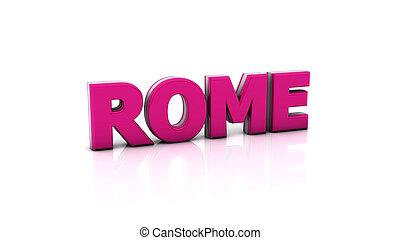 Rome in 3d