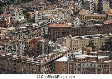 Rome, Italy cityscape.
