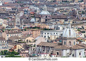 rome, luchtmening