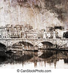 rome, pont