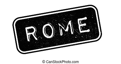 Rome rubber stamp