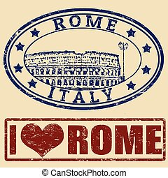 Rome stamps