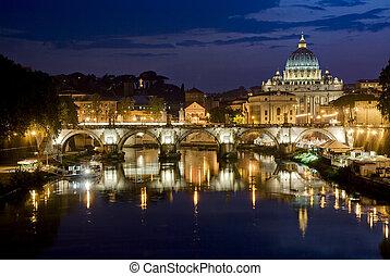 rome, stemningsfuld