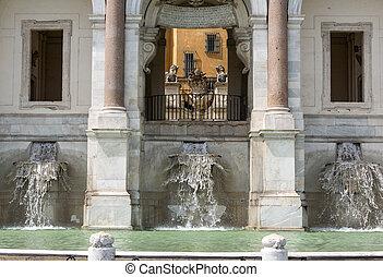Rome - The Fontana dell'Acqua Paola - The Fontana dell'Acqua...