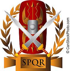 romein, symbool