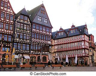 romerburg, carrée, francfort