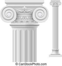 romersk, kolonn