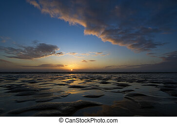 Romo Island sunset