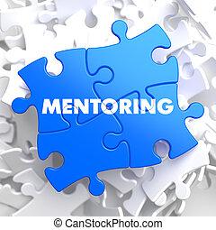 rompecabezas, mentoring., pieces: