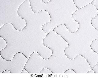 rompecabezas, pedazos jigsaw
