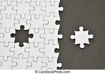 rompecabezas, puzzle.