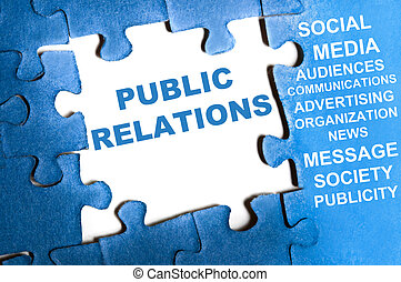rompecabezas, relaciones públicas