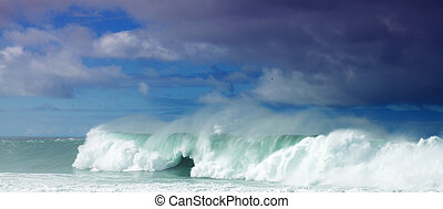 romper ondas