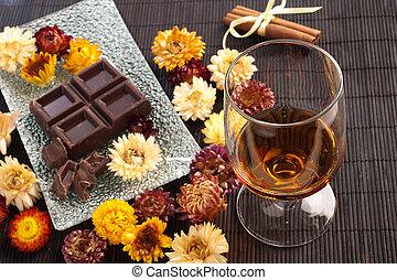 ron, chocolate