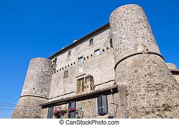 ronciglione., anguillara, italy., castle., lazio.