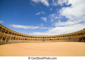 Ronda Bullfighting Arena in Spain