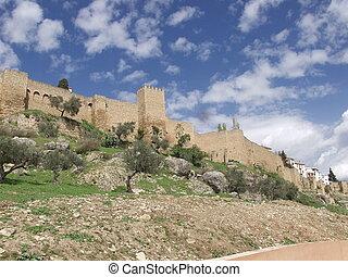 Ronda, Spain, wall