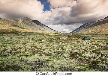 rondane, 国立公園, キャンプ