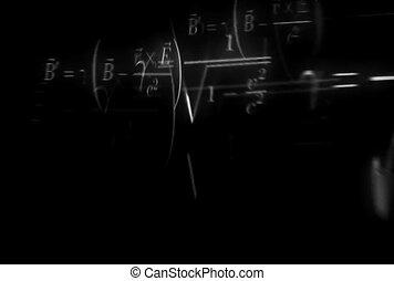 ronddraaien, wiskundige vergelijkingen