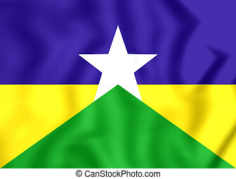 rondonia, brazil., 旗