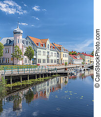 Ronneby Canal View