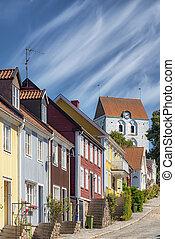 Ronneby Church Street View