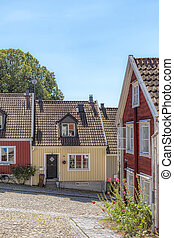 Ronneby Street on a Slope View
