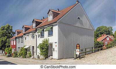 Ronneby Street View Corner House
