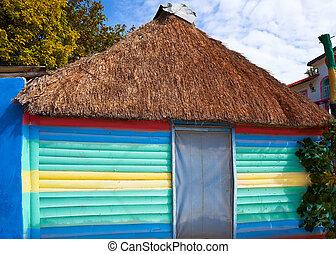 roo, sziget, mexikó, tropikus, holbox, quintana