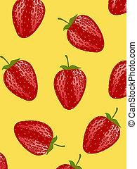 rood, aardbei