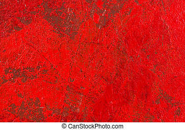 rood, abstract, acryl, achtergrond