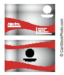 rood, abstract, vuur, achtergrond