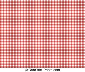 rood, checkered, picknick, tafelkleed