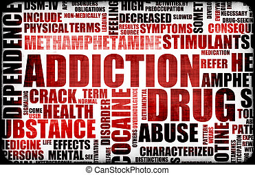 rood, dien medicijnen verslaving toe