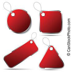 rood etiket, beauty, multishape