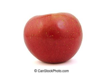 rood, fuji appel