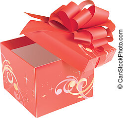 rood, giftbox