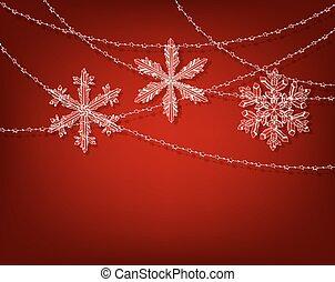 rood, kerstmis, achtergrond