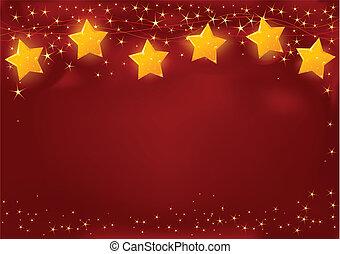 rood, kerstmis kaart
