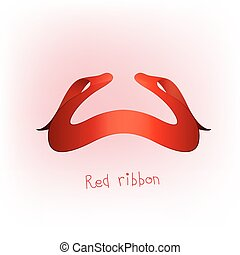 rood lint, spandoek