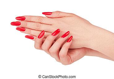 rood, manicure