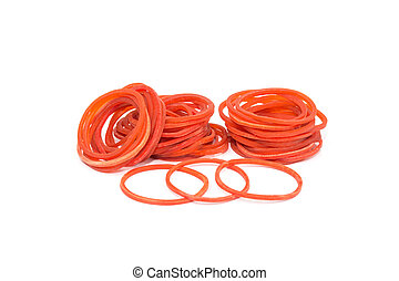 rood, rubber, band.