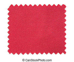 rood, stoffenmonster, stalen, vrijstaand, op wit,...