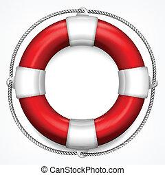rood wit, zeebaken, leven
