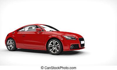 rood, zakelijk, auto showroom